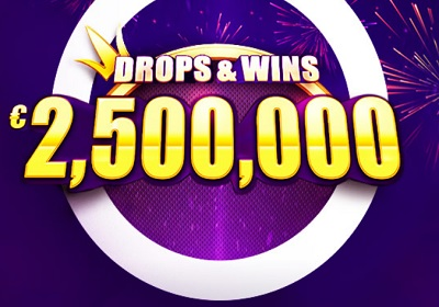 """Drops and wins"" 2 500 000 € Network turniir"
