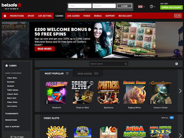Betsafe screenshot 2