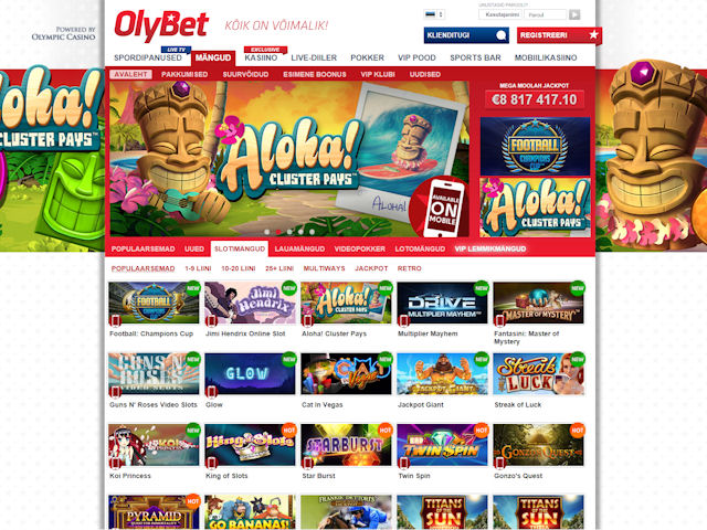 OlyBet screenshot 1
