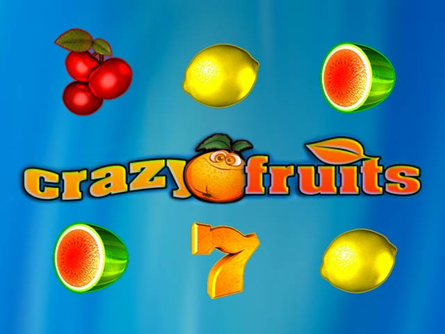 Puuviljadega slotimasin Crazy fruits