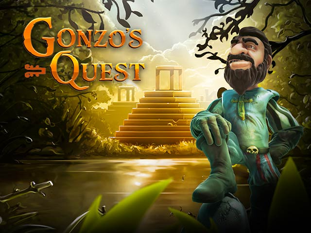 Seiklusteemaline slotimasin Gonzo's Quest