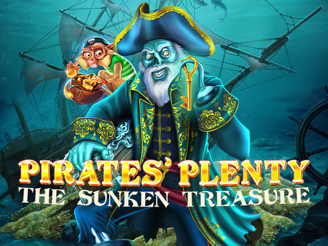 Seiklusteemaline slotimasin Pirates' Plenty